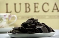 Lubeca 85% горький шоколад Ghana Chocolate Couverture