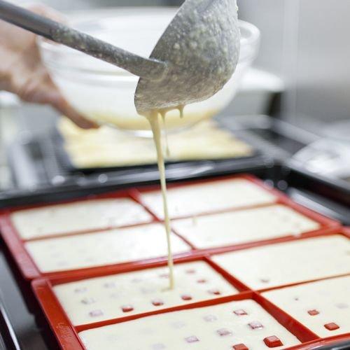 Рецепт вафель в силиконовой форме в духовке